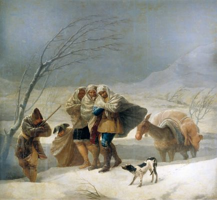 francisco-goya-tempete-de-neige
