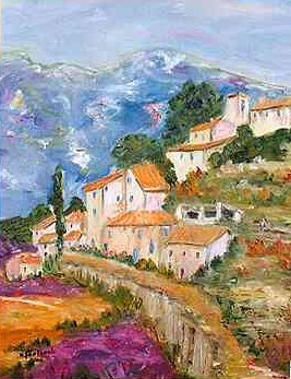 Le village proven al the proven al village pictures to pin for Le mas provencal eze